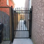aluminum picket gates