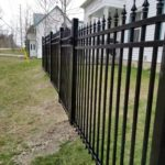 aluminum picket fencing