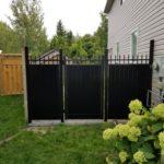 aluminum privacy gate missisauga