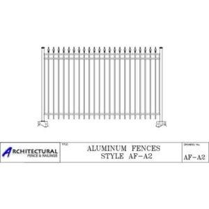 aluminum picket fence download