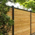 aluminum wood fence panels