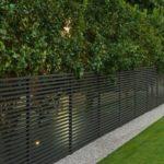semi-privacy aluminum fence canada
