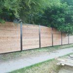 aluminum wood fence panels canada