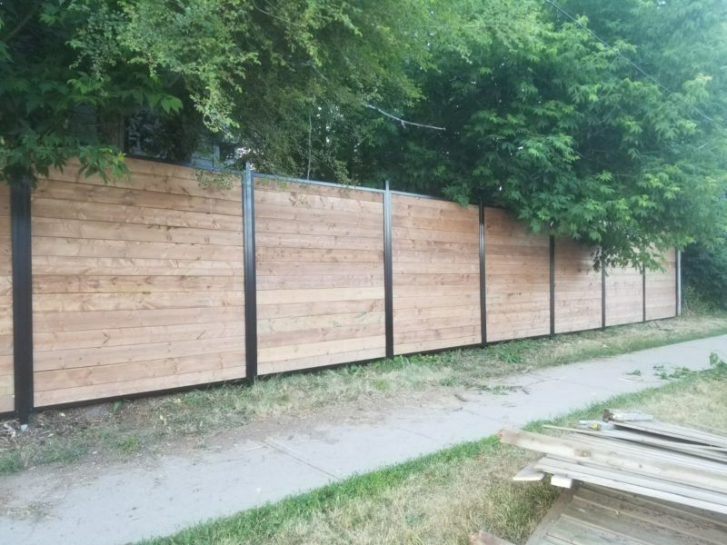 aluminum wood fence panels canada