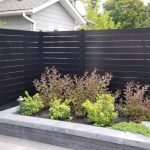 semi-privacy aluminum fence panels