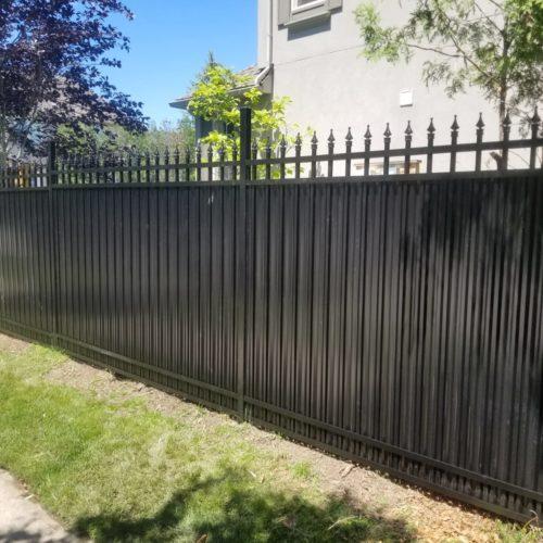 aluminum fence oshawa