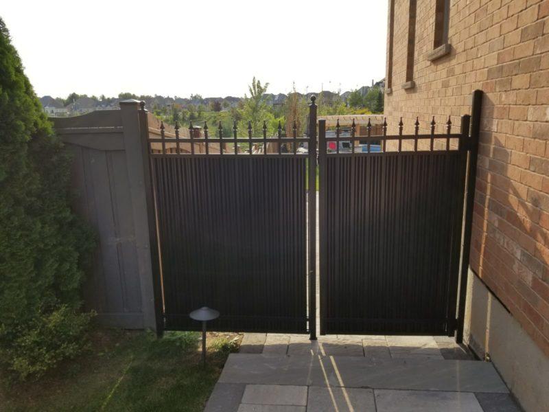aluminum gate toronto