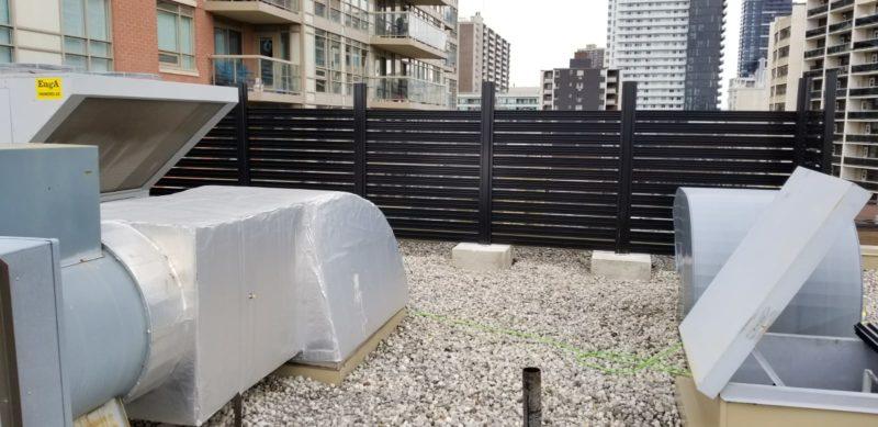 Aluminum Semi Privacy Fence Panels