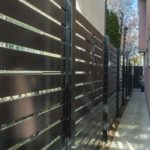 Aluminum commercial Semi Privacy Fence Panels